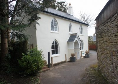 Project Management Sidmouth Church Cottage Refurbishment